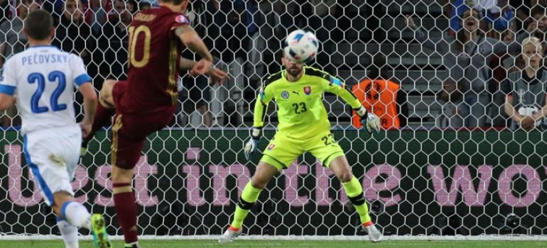 Россия на Евро-2016 заняла первое место по количеству пропущенных мячей