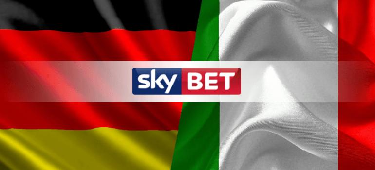 В Италии и Германии теперь работает букмекер Sky Bet